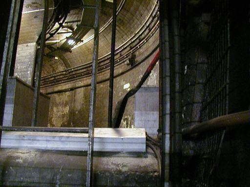 Disused tunnel at St. Paul's