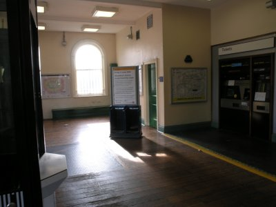 Shoreditch booking hall