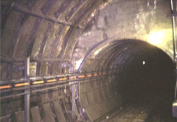 The widened tunnel